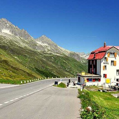 adventure; alpine; alps; area; building; cafe; car; cow; dale; dangerous; destination; europe; european; furka; gotthard; hotel; house; mountain; national; nature; old; park; pass; restaurant; road; rock; rural; scenery; scenic; serpentine; skiing; slope; st; street; summer; swiss; switzerland; tourism; traffic; travel; valley; view;