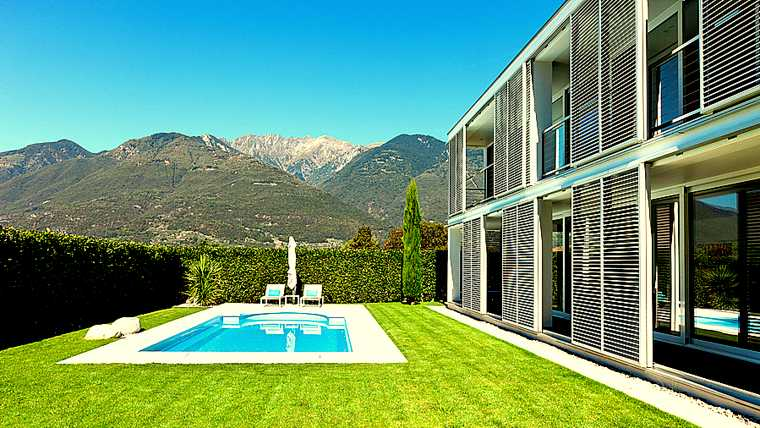 architecture; beautiful; blue; contemporary; design; empty; estate; exterior; facade; garden; grass; green; holiday; home; house; interior; lifestyle; luxury; modern; new; nobody; outdoors; outside; pool; poolside; property; real estate; resort; sky; style; summer; sunny; swimming; view; villa; water; window;