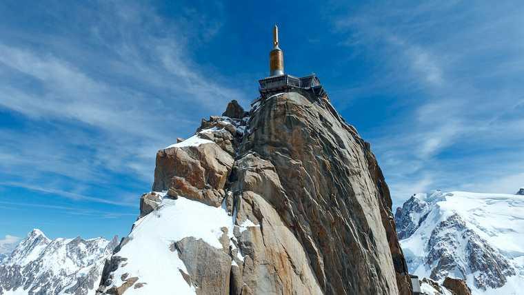 aiguille; alps; blanc; blue; chamonix; ; ciel blue; ski mountaine;