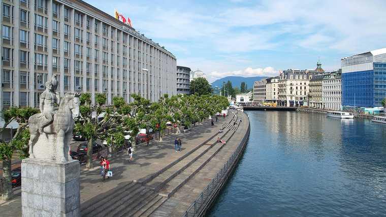 aerial; city; europe; fountain; geneva; geneve; jet; lake; landscape; leman; postcard; sky; switzerland; swizz; tourism; travel; urban; view; visit; water;